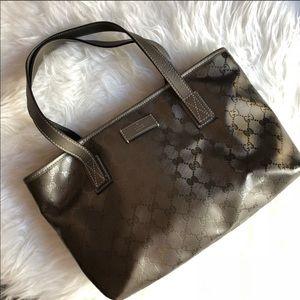 Gucci imprime bronze bag, medium